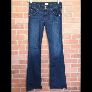 Hudson jeans signature bootcut dark stretchy (T53)